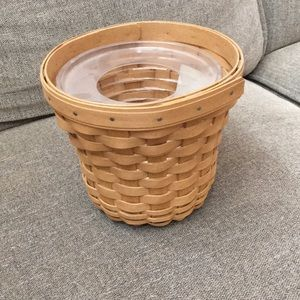 Longaberger flower basket